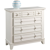 Home Styles Arts and Crafts 4-Drawer Chest, White