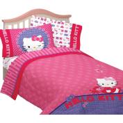 Hello Kitty Microfiber Twin/Full Reversible Comforter