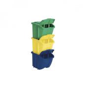 Suncast Multi Coloured Recycle Bin Kit