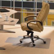 Floortex Computex Advantagemat PVC Anti-Static Chairmat for Standard Pile Carpets, 91.4cm x 121.9cm with Lip