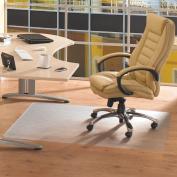 Floortex Cleartex Advantagemat PVC Smooth Back Chairmat for Hard Floors, 121.9cm x 200.7cm