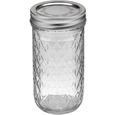Ball 12-Count 350ml Jelly Jars with Lids and Bands