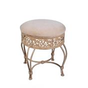 Hillsdale Furniture Villa III Vanity Stool, Antique Beige