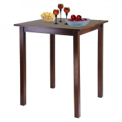 Parkland Square High Table, Antique Walnut