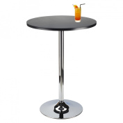 Pub Table, Black and Chrome