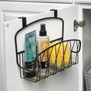 Spectrum Diversified Designs Twist Over-the-Cabinet-Door Basket, Black