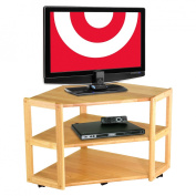 Derby Beech Corner TV Stand, for TVs up to 68.6cm