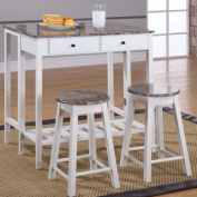 InRoom Designs Breakfast Pub Table Set