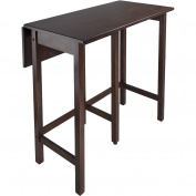 Winsome Lynnwood Drop-Leaf Kitchen Island Table
