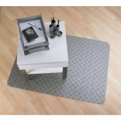 Floortex Colortex UltiMAT Photo Polycarbonate Smooth Back Chairmat for Hard Floors and Low Pile Carpets, 90cm x 120cm Ripple Design