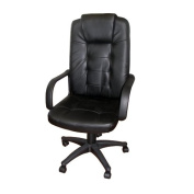 Home Source Industries High-Back Executive Chair with Arms