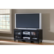 Hillsdale Furniture Grand Bay Black Entertainment Console for TVs up to 172.7cm