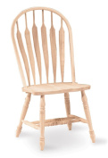 International Concepts Windsor Steambent Arrowback Chair - 1 Chair