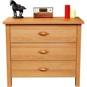 Nouvelle 3-Drawer Dresser, Oak