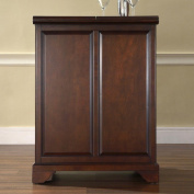 Crosley LaFayette Expandable Bar Cabinet in Vintage Mahogany