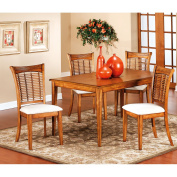 Hillsdale Bayberry Rectangle Dining Table, Oak Finish