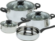 Magefesa 01BXDELIS07 Deliss Stainless Steel 7 Piece Cookware Set