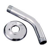 Waxman Consumer Products Group Chrome Plated Finish Shower Arm With Flange 7657