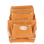 Style N Craft Suede Leather 10 Pocket Nail and Tool Pouch