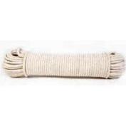 Koch Industries 5600725 Cotton/Poly Sash Cord 7X100 Hook Braided White - Each