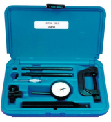 Central Tools CEN6400 .200 Inch 0-100mm Range Dial Indicator Set