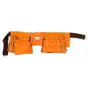 Style N Craft Suede Leather 11 Pocket Carpenter's Tool Belt