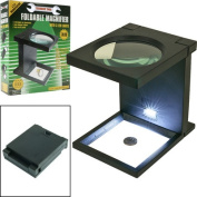 Trademark Tools Foldable Magnifier with 3 LED Lights