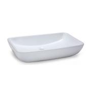 Xylem Rectangular 23.5'' Vitreous China Vessel Sink in White