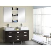 Virtu USA Inc. UM-3063W Virtu USA 56 Maybell - White - Single Sink Bathroom Vanity