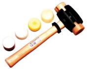 Garland Mfg Split Head Hammers - size 2 split-head rawhide hammer