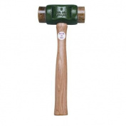 Garland Mfg Solid-Head Hammers - size 4 solid-head rawhide hammer