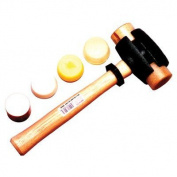 Garland Mfg Split Head Hammers - size 5 split-head rawhide hammer