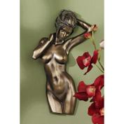 Design Toscano La Donna Nude Female Torso Wall Sculpture