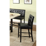 Hokku Designs Milly Leatherette Corner Counter Height Chair