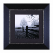 Art Effects Fence In The Mist Framed Artwork