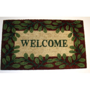 Geo Crafts G105 Welcome 2 Printed Coir Mat