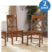 Walker Edison Millwright Dining Chair in Antique Brown