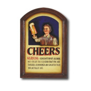 RAM Gameroom Products Hand-Carved Cheers Sign