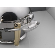 SMART Buffet Ware Round Roll Top Detachable Stainless Steel Spoon Holder