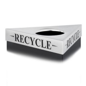 Safco Products Company Trifecta  ''Recycle'' Lid