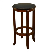 AHB Princess Walnut Bar Stool