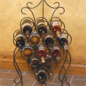 J & J Wire Victorian Wine Rack