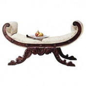 Design Toscano Waldorf Hardwood Bench