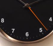 Bai Design Designer Wall Clock in Helio Black