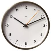 Bai Design Designer Wall Clock in Helio White