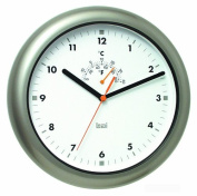 Bai Design Aquamaster Weatherproof Wall Clock in Gunmetal