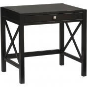 Anna Laptop Writing Desk with Tray for Keyboard
