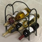 J & J Wire 6-Bottle Wine Holder