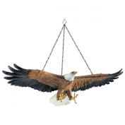 Design Toscano Flight of Freedom Hanging Eagle Sculpture