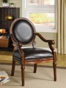 Hokku Designs Eagan Leatherette Arm Chair